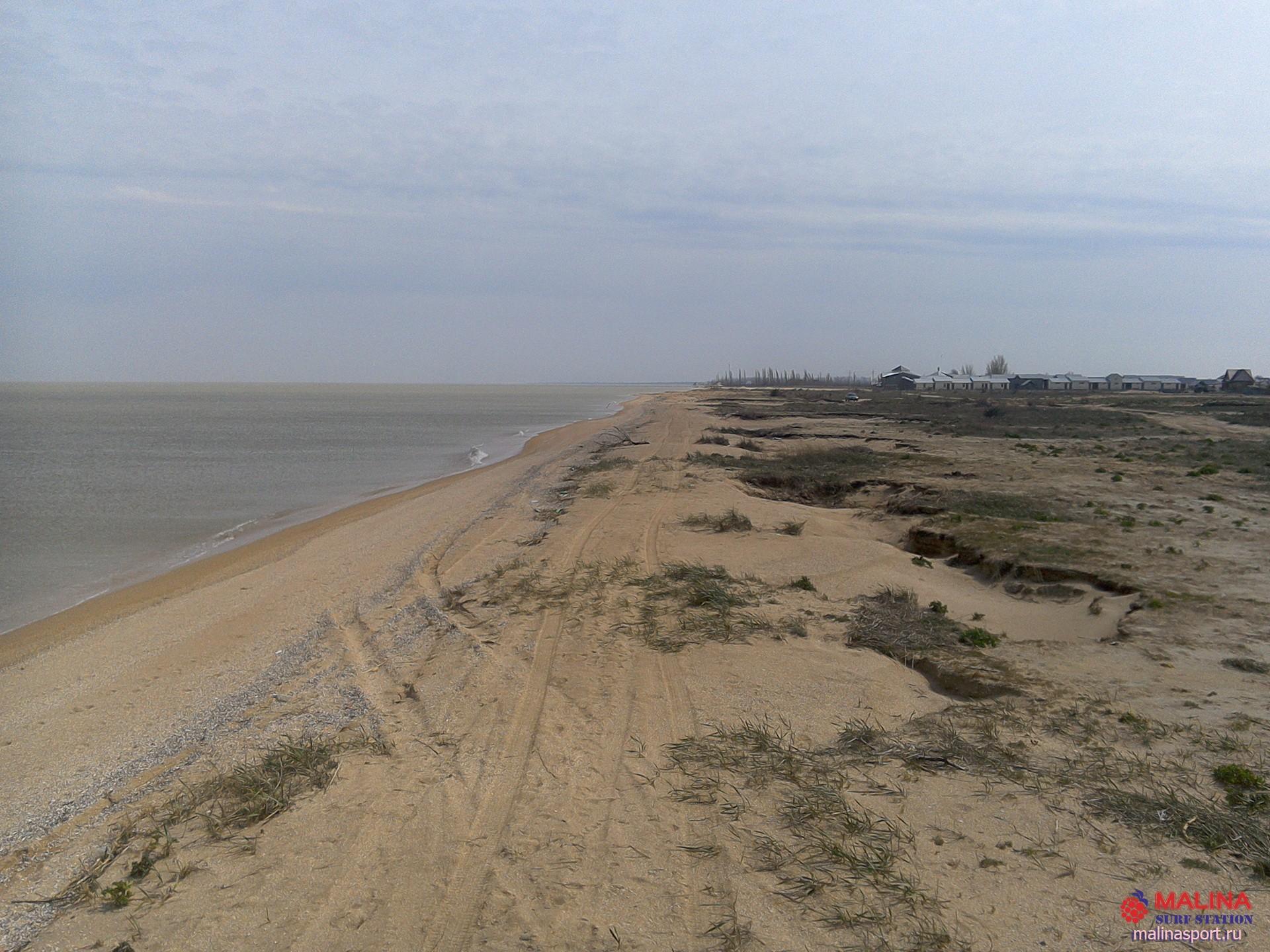 Все пляжи станицы Должанская и косы 17